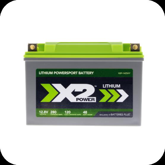 X2 Power Lithium Battery